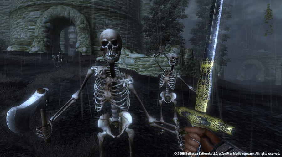 Des Quêtes Aléatoires À La Daggerfall... Dans Oblivion