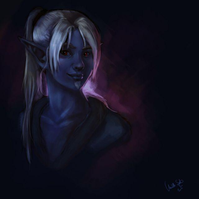 Aydel portrait by UninvitedChaos