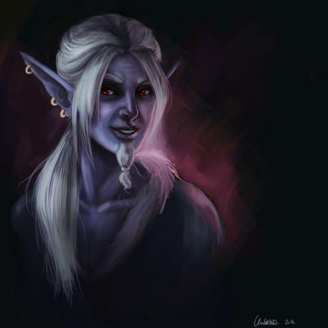 Older Aydel portrait remaster - By UninvitedChaos