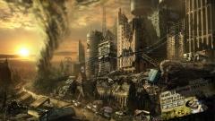 Ville dévastée