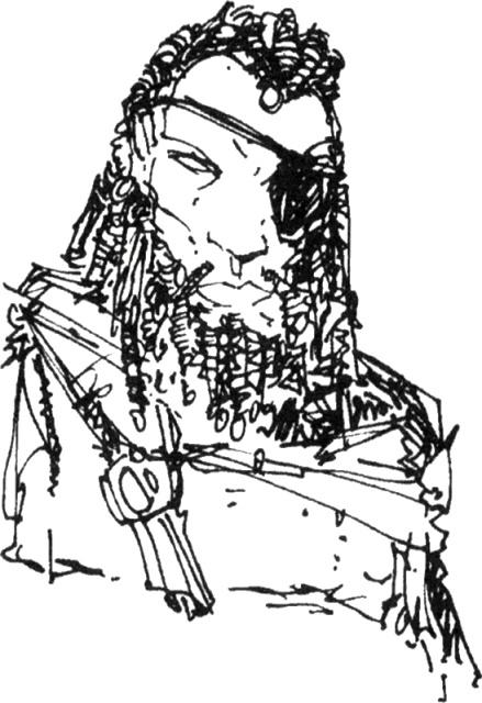Pirate de la ligue des Infatigables