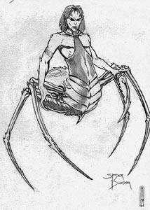 Araignée daedra