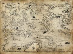 Carte du Western Reach
