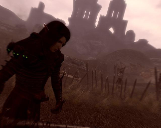 Arya, combattant dans les terres cendres