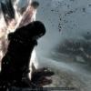Arya auprès Du feu, achevant Son enemi