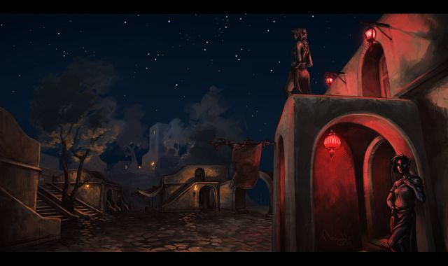 A quiet night In suran - By TheMinttu