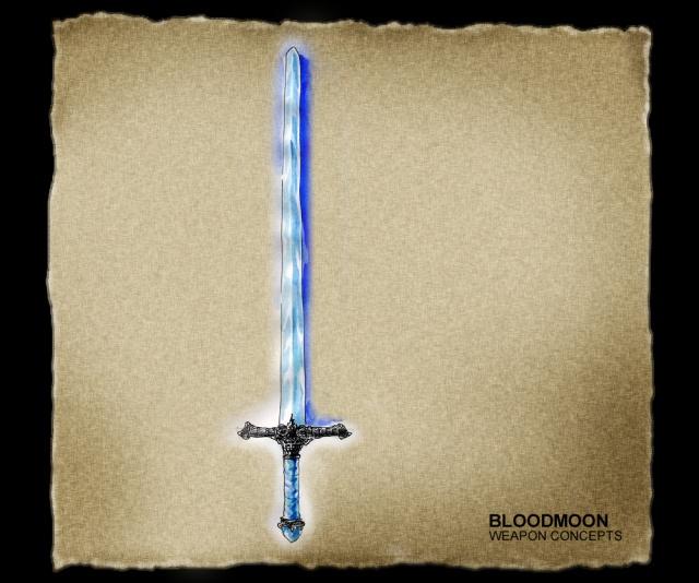 Épée en Stalhrim