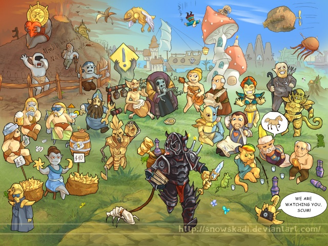 """Morrowind days"" par SnowSkadi"