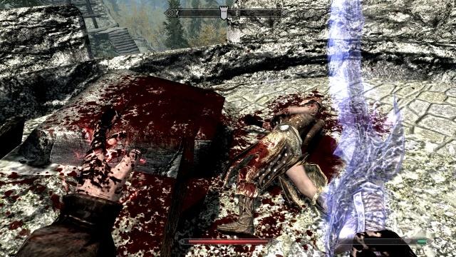 Trop de sang !