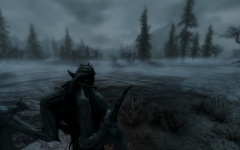 Seigneur vampire dans la brume