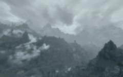 La Crevasse dans la brume