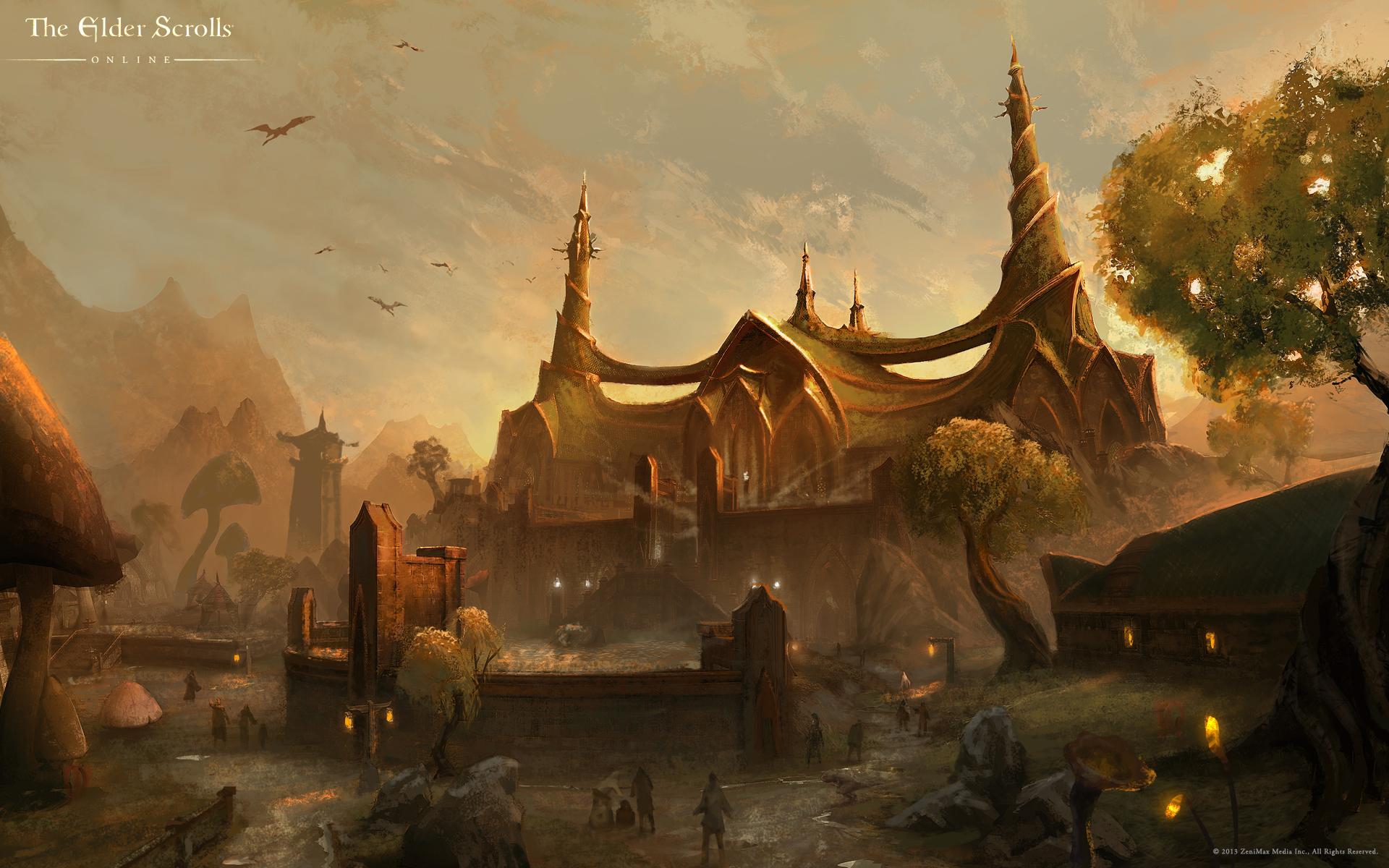 Le temple du Tribunal à Longsanglot