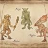 Minotaure, Galopin et Faucheclan