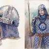 Garde portant les armoiries de Chorrol