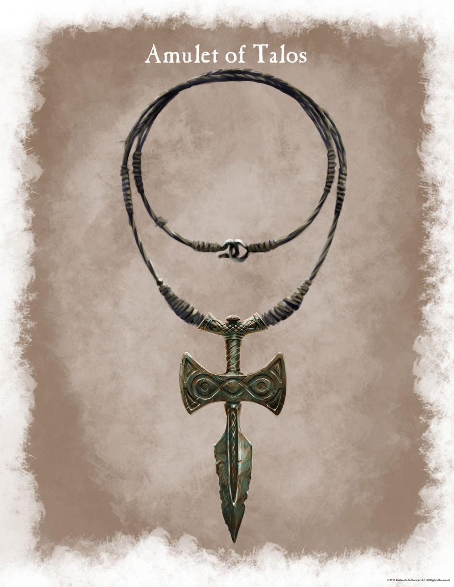Amulette de Talos