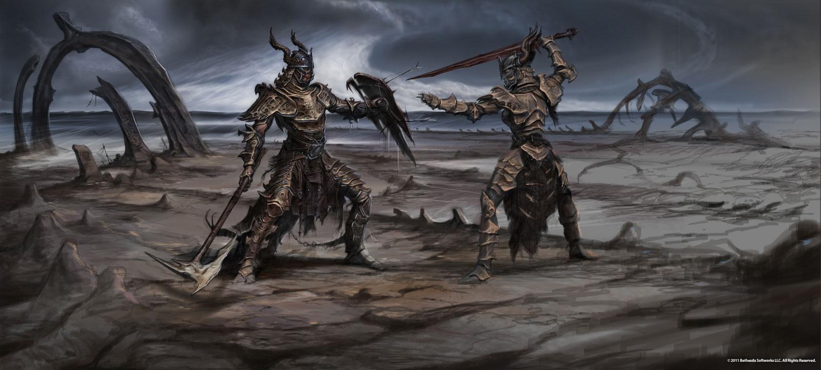 Armure en os de Dragon