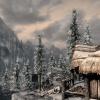 24 - L'auberge de la Porte Nocturne, le matin après une chute de neige