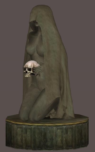 Statue funéraire...