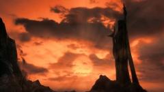 Coucher de soleil sur le Sanctuaire d'Azura