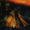 Aurore boréale au-dessus de la Forge Céleste à Blancherive
