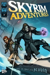 Skyrim adventures comic cover By grantgoboom d4xrqr2