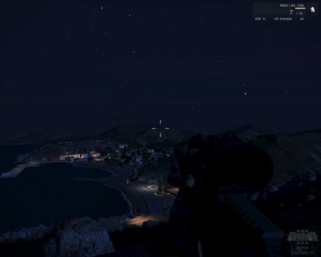Nuit Sur Agia Marina