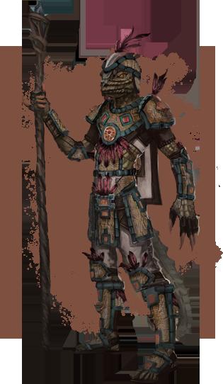 Argonian light armor