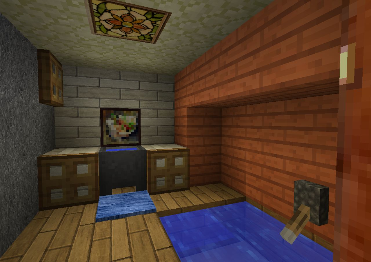 Salle De Bain Journal D Une Naufragée Dans Minecraft