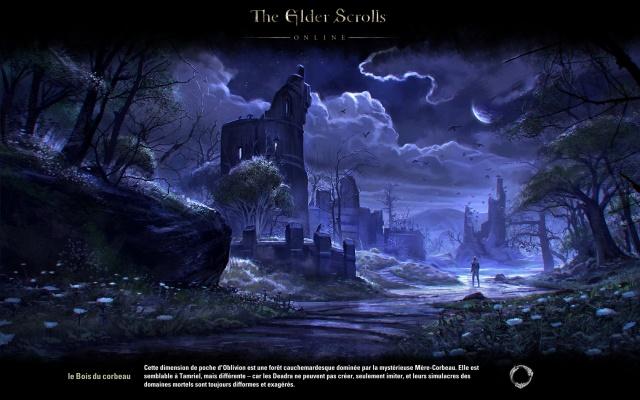 Le bois du corbeau (Sous-Plan daedrique de Nocturne)