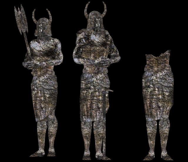 Statues nordiques