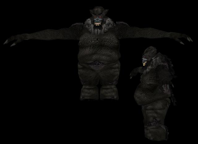 Création d'un Ogre noir