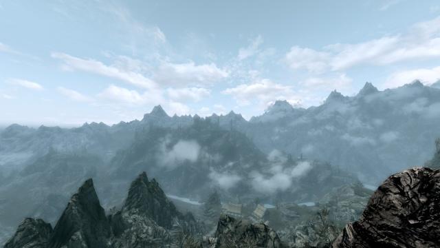 Du haut des montagnes de Markarth