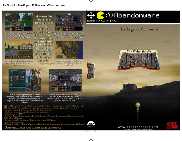 cover abandonware arena