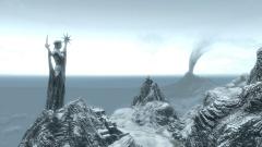 Statue d'Azura dans Skyrim