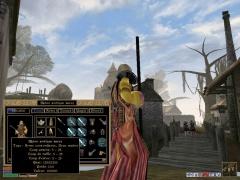 Arme : Bâton antique sacré