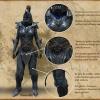 Armure lourde Orque polie
