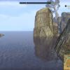 Île à l'est de Tamriel, au loin